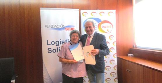 Fundación SEUR firma un acuerdo con el INDEPF y se convierte en su asesor logístico