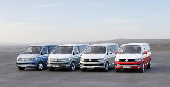 Volkswagen Vehículos Comerciales desvela la sexta generación de la Gama T con 'Fieles al Original'