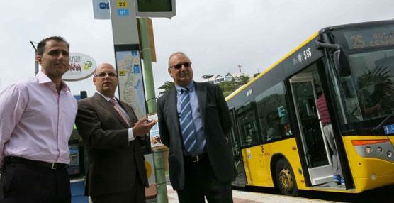 Guaguas Municipales incorpora el sistema CyberPass de audio a 39 paradas de la red