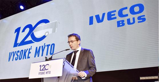 Iveco Bus realiza los festejos por el 120 aniversario de la factoría checa de Vysoké Mýto
