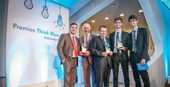 Volkswagen hace entrega de la primera edición de los premios a la innovación Think Blue