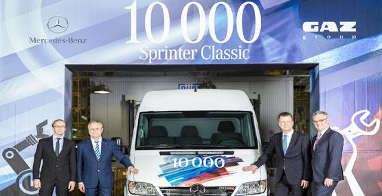 Hito para Mercedes-Benz Vans en Rusia: 10.000 Sprinter Classic producidas en Nizhni Nóvgorod