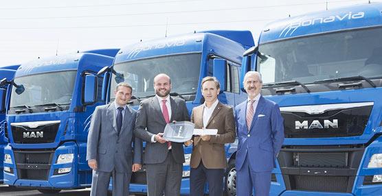 MAN Truck & Bus Iberia hace entrega de 11 unidades de un pedido total de 30 al Grupo Sesé