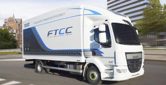 DAF muestra el nuevo Future Truck Chassis Concept, una reducción de 500 kg de peso en camiones de distribución de 12 toneladas