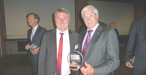 Schmitz Cargobull gana el premio a la imagen 'Mejor Marca', se alza con el título por quinta vez