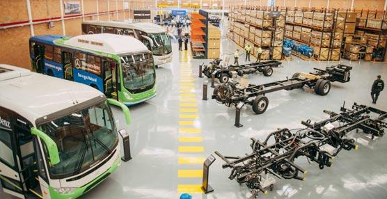 Daimler abre una nueva planta de autobuses en Colombia y amplía su negocio en América Latina