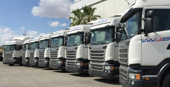 SCALEVANTE entrega 10 nuevos camiones a la empresa de transportes La Espada