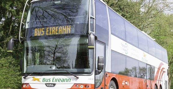12 Autocares VDL Synergy de dos pisos son comprados por la compañía nacional irlandesa Bus Éireann