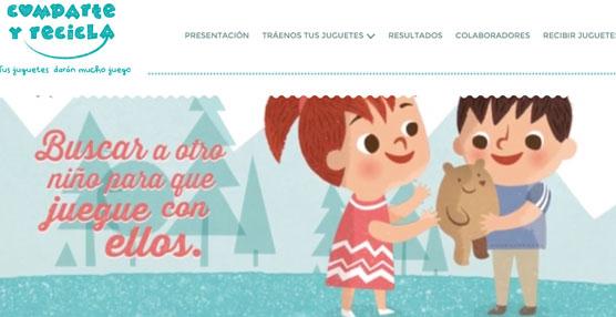 La Fundación SEUR se une a la campaña solidaria de recogida de juguetes Comparte y Recicla