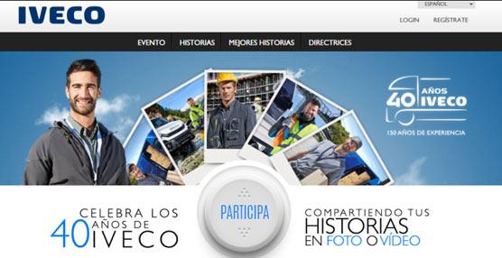 Iveco celebrael 40 aniversario de su creación y para celebrarlodiseñaun logotipo especial