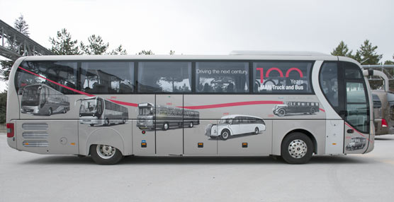 MAN Truck & Bus Iberia expone 10 autobuses y autocares en el Salón del Transporte y la Logística, Nortrans