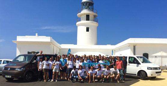 Volkswagen vehículos comerciales se reune con emprendedores de todo el mundo en el encuentro Menorca Millennials