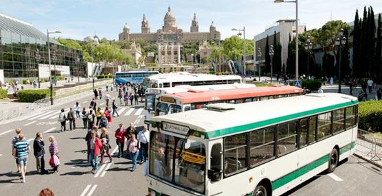 Algunos de los autobuses clásicos más interesantes existentes recorren la ciudad de Barcelona