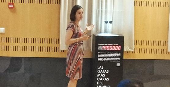 La directora general de Tráfico, María Seguí, durante la presentación del dispositivo especial de tráfico.