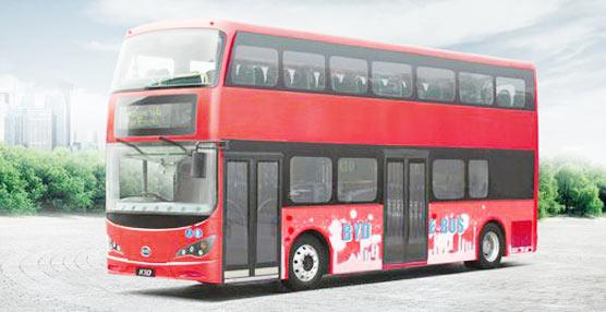 BYD suministra a Londres los primeros autobuses de dos pisos 100% eléctricos del mundo