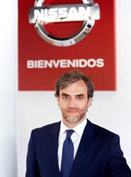 Manuel Burdiel, director de Ventas de Nissan Iberia.