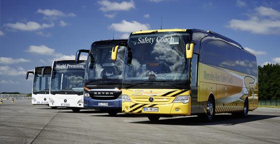 Daimler y su amplio concepto integral de seguridad para buses eje central del Campus Safety