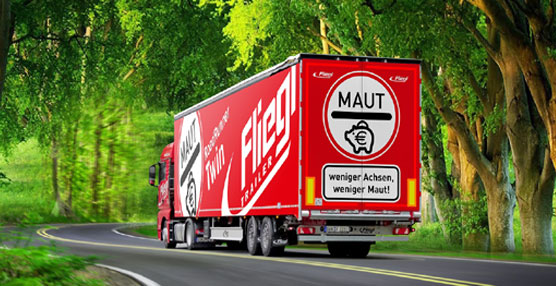 Los semirremolques de dos ejes Fliegl ya están listos para el nuevo peaje en Alemania