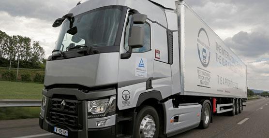 TÜV Rheinland certifica la reducción del consumo de combustible de un 10,9 % del Renault Trucks T Optifuel