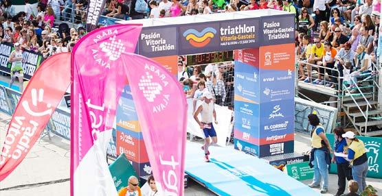 La empresa de paquetería GLS se convierte en colaborador oficial del Triatlón Vitoria-Gasteiz 2015