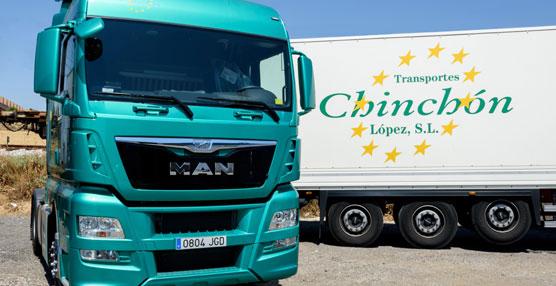 Transportes Hermanos Chinchón apuesta por las prestaciones en consumo del MAN EfficientLine