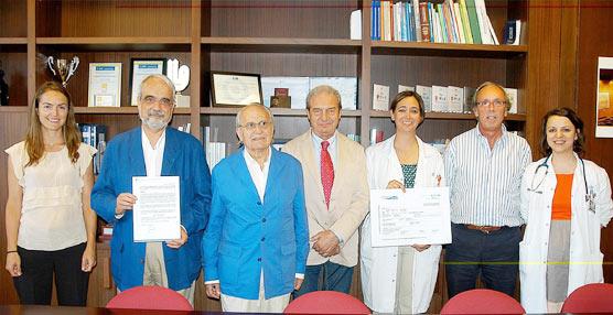 Fundación Seur dona 10.000 euros más al Hospital Ramón y Cajal, para la investigación de una enfermedad infantil