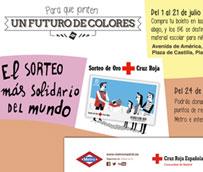 EL CRTM se une a Cruz Roja y Metro en una nueva campaña de recogida de material escolar