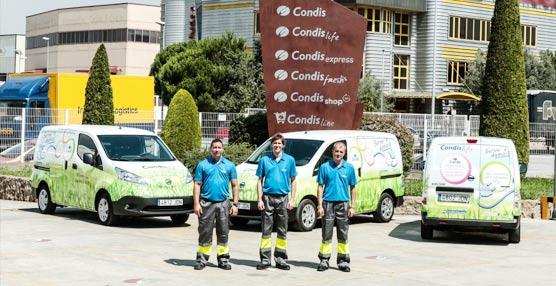 Condis Supermercats aumenta su flota con tres furgonetas 100% eléctricas Nissan e-NV200