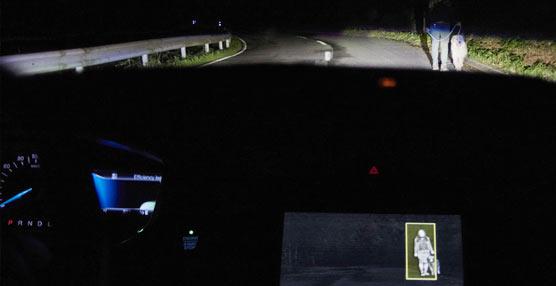 Ford concibe un avanzado sistema de iluminación que divisa personas y animales en la oscuridad