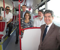 Teruel pone en marcha su nueva red de transporte urbano, a cargo de la empresa La Veloz