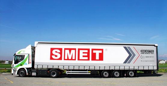 Iveco y la empresa Smet cooperan para lograr una logística de bajo impacto medioambiental