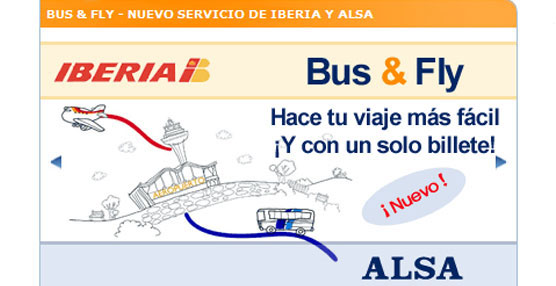 ALSA e Iberia ofrecen intermodalidad entre entre Toledo y la T4 del aeropuerto de Madrid
