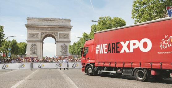 XPO Logistics mantiene una tradición de 35 años como socio logístico oficial del Tour de Francia