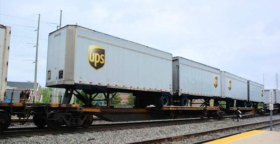 UPS toma la decisión de incrementar el servicio ferroviario entre China y Europa con la opción Less-than-container (LCL)