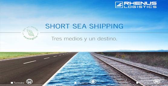 Rhenus Logistics da comienzo a su nuevo periplo con la opción del servicio multimodal Short Sea Shipping
