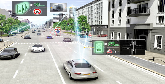 Asistencia para la anticipación, Continental incorpora en eHorizon regulación de distancia al control de velocidad