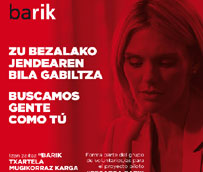 El Consorcio de Transportes de Bizkaia inicia una prueba piloto para recargar la Barik a través del móvil