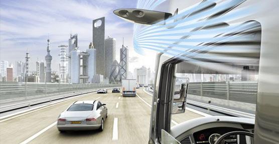 Continental cambia los retrovisores interior y exteriores por un vanguardista sistema de cámaras y monitores