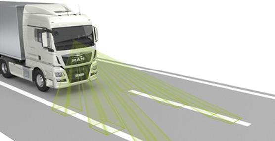 MAN presenta una nueva generación de sistemas de seguridad inteligentes para camiones