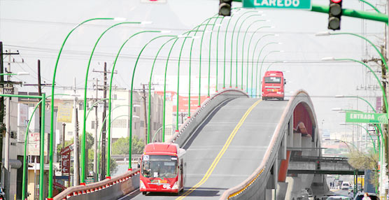 Indra instaura un moderno sistema de gestión de flota para los autobuses de Ecovía, en Monterrey