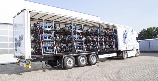 Kronelogra en sólo un año instalar su eje para remolques en más de 10.000 unidades fabricado por Trenkamp y Gehle