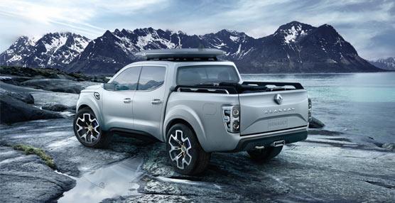 El Grupo Renault se adentra en el segmento de los pick-up con el lanzamiento del nuevo Alaskan