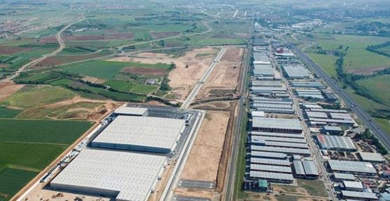 Plataforma logística 'Montepino S.I. 20', en el polígono Industrial de Cabanillas del Campo (Guadalajara).