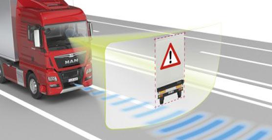 Nueva generación de los sistemas de seguridad para los camiones producidos por MAN y NEOPLAN