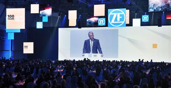 ZF cumple años, en este septiembre de 2015 está celebrando el 100 aniversario de la marca