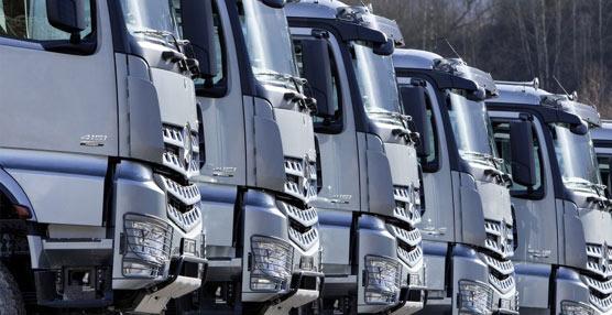 Las matriculaciones de vehículos industriales siguen al alzacrecen hasta agosto un 49,3%