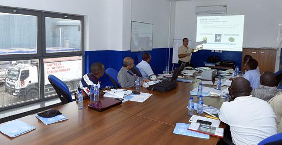 Renault Trucks forma a 10 miembros del Programa Mundial de Alimentos en su base de Ghana