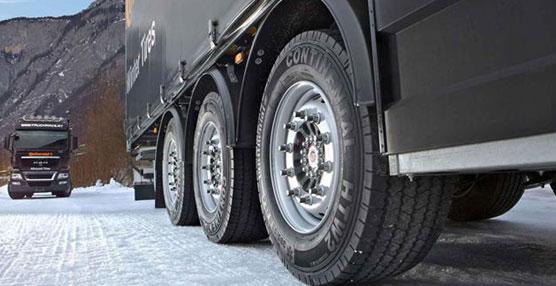 Continental cuenta con la gama Scandinavia de neumáticos de invierno para camiones.