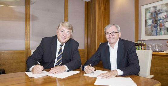 Las empresas de transporte GLS y DB Schenker Logistics suscriben un pacto de cooperación para el viejo continente