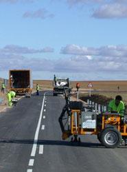 España es el segundo país de la Unión Europea con más tramos blancos en sus carreteras.